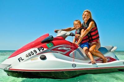 Jet Skiing in Key West