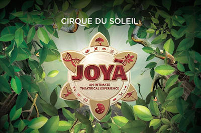 JOYA By Cirque du Soleil in Cancun