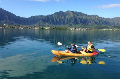 Kaneohe Bay Kayak and Snorkel Tour to Coconut Island in Oahu