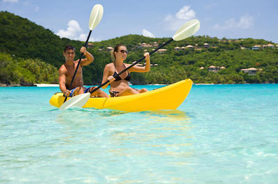 St. Thomas Kayak and Sea Turtle Snorkel Excursion