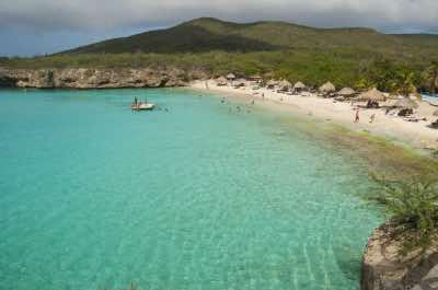 Kenepa Beach  also known as -  Playa Kenepa - Or Klein Knip in Curacao