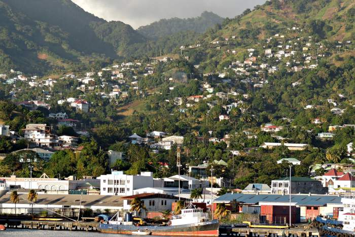 Kingstown, capital of St. Vincent and The Grenadines