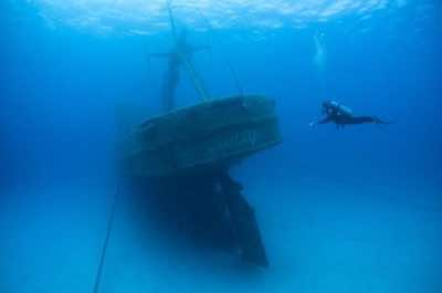 Grand Cayman Kittiwake Shipwreck & Artificial Reef