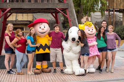 Knott's Berry Farm in Los Angeles with kids