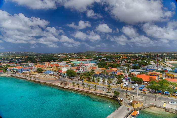 Kralendijk - capital city of Bonaire