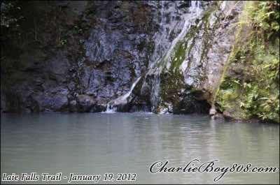 Laie Falls in Oahu