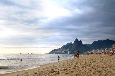 Leblon Beach in Rio de Janeiro