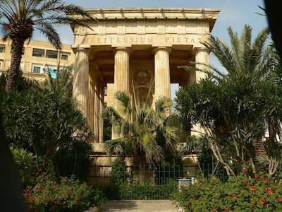 Lower Barrakka Gardens in Malta