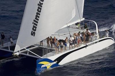 Luxury Catamaran Cruise from Oahu in Oahu