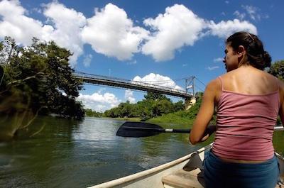 Macal River in San Ignacio