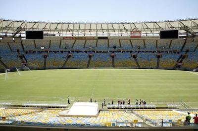 Maracana Stadium behind-the scenes tours in Rio De Janeiro