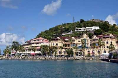 Marigot, capital of St. Martin