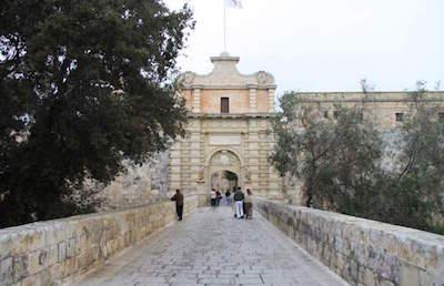 Mdina Main Gate - Baroque Gateway in Malta
