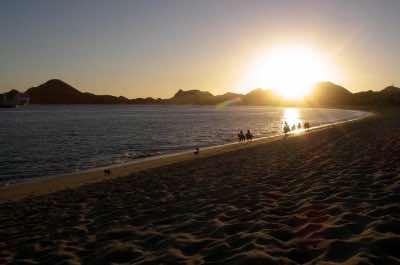 Medano Beach in Los Cabos