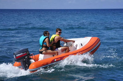 Mini Speedboat and Snorkeling Adventure in St. Kitts