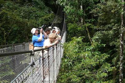 Mistico Arenal Hanging Bridges Park in Costa Rica