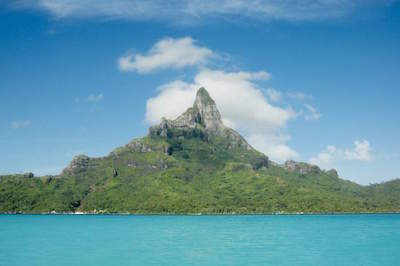 Mount Otemanu in Bora Bora