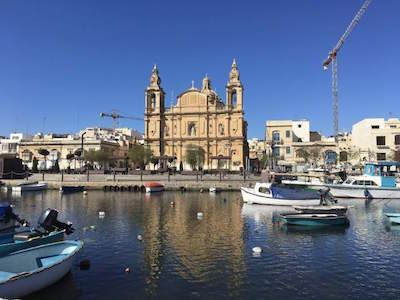 Msida Marina in Malta