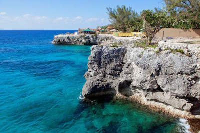 Negril's Cliffs, Jamaica
