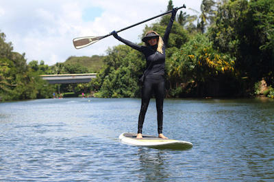 North Shore Stand-Up Paddleboard Lesson<b></b> in Oahu