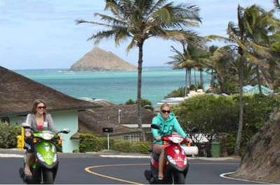 Oahu Independent Scooter Adventure