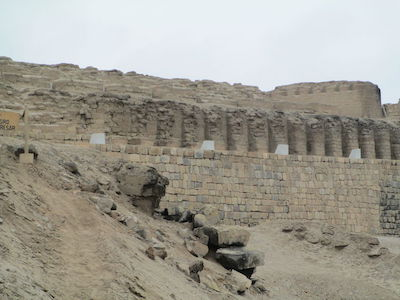 Site Museum and Archaeological Sanctuary of Pachacamac - Pachacamac Itshma Temple in Lima