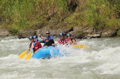 Pacuare River in Costa Rica