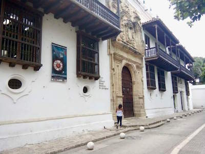 Palace of Inquisition in Cartagena