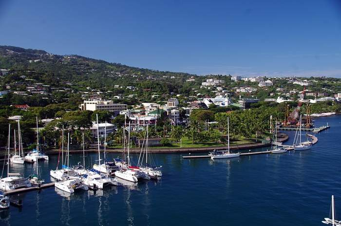 Papeete - Capital of French Polynesia