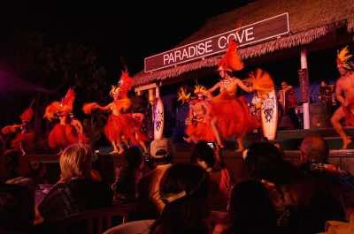 Paradise Cove Luau in Oahu