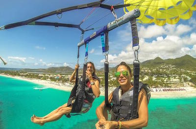 Parasailing & Paragliding in St. Martin