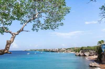 Playa Kalki beach in Curacao