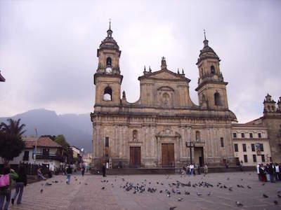 Plaza Bolivar in Cartagena