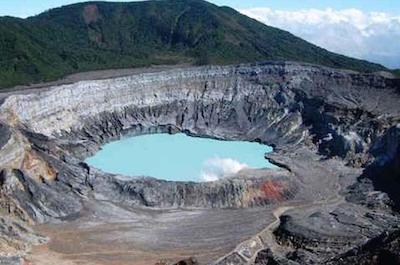 Poas Volcano National Park in Costa Rica