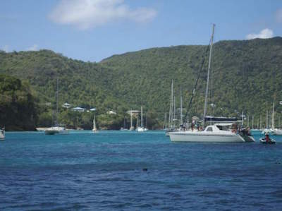 Port Elizabeth in St. Vincent and The Grenadines