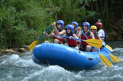 Rafting in Montego Bay