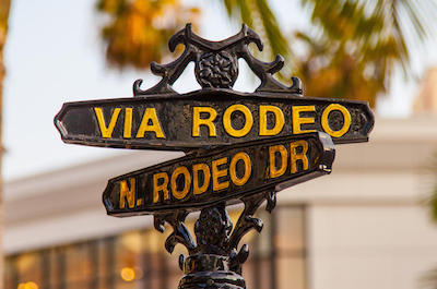 things to do in Beverly Hills - Rodeo Drive