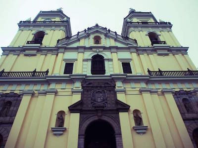 San Pedro Church in Lima