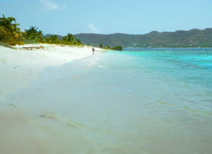 Sandy Island in Grenada