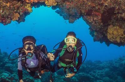 Scuba Diving in Cozumel