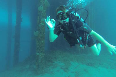 Scuba Diving in Curacao