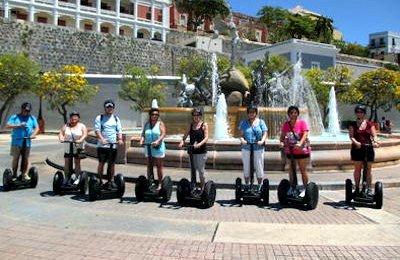 Segway Tour in San Juan