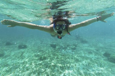Snorkeling in Curacao