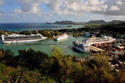 St. Lucia Cruise Port