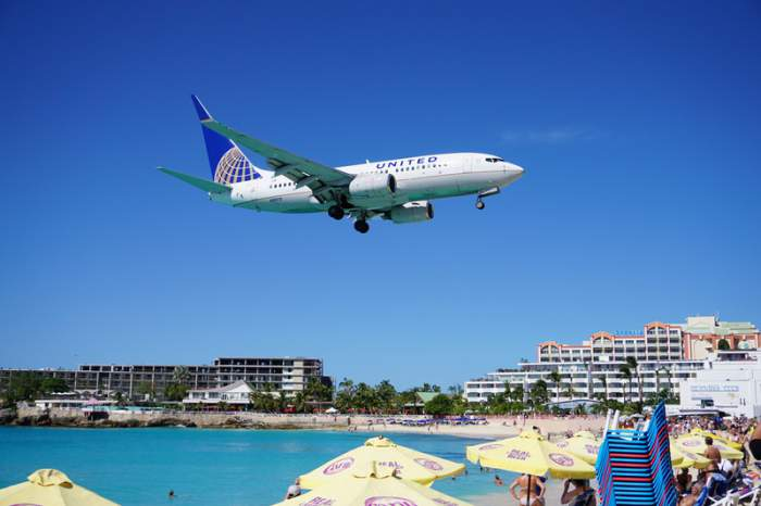 St. Maarten island in the Caribbean