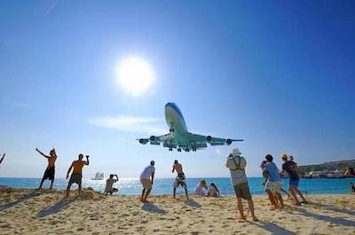Maho Beach Round-Trip Transfer