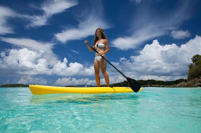 St. Thomas Stand Up Paddleboarding