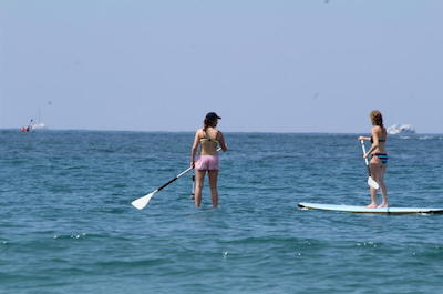 Stand Up Paddleboarding in Manuel Antonio