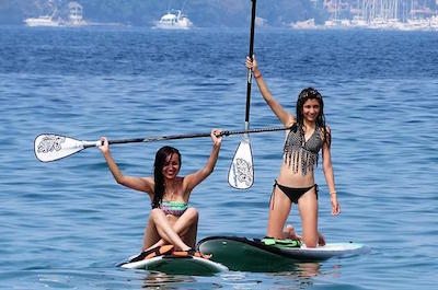 Standup Paddleboarding in Acapulco