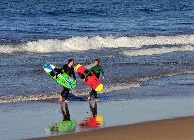 Surfing lessons  in Puerto Vallarta